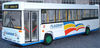 CORGI 42801 Dennis Dart /  Plaxton Pointer 9.8m Kingfisher Huddersfield - PRE OWNED